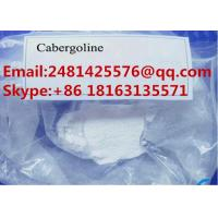 Buy cheap 99% Purity Pharmaceutical Raw Materials Powder Cabergoline / Dostinex CAS 81409 from wholesalers