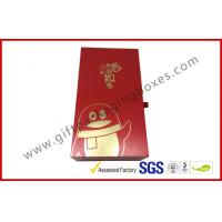 China Customized Elegant Luxury Gift Boxes , Drawer Gift Packaging Boxes With Printed Paper wholesale