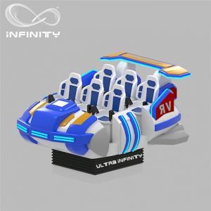 Quality 6 Seats VR Motion Simulator Virtual Reality Cinema Entertainment Simulation for sale