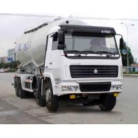 China V Shape Bulk Cement Truck With 68m3 Volume CCC/ ISO/SGS Certification wholesale
