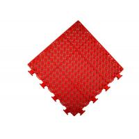 Buy cheap Red Color Multipurpose Temporary Sports Flooring Touching Soft PP Professional Protection from wholesalers