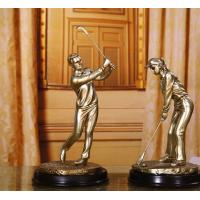 China golf resin Figure sculpture craftwork Decoration wholesale