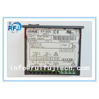 China Black Dixell Thermostatic Controller , Digital Temperature Controller Dual output thermostat XT120C wholesale