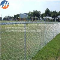 China how to install chain link fence wholesale