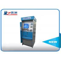 China High Brightness Card Dispenser Kiosk With ID Card Scan Issuing For Hotel Check In wholesale