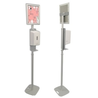 China soap dispenser floor stand on sale