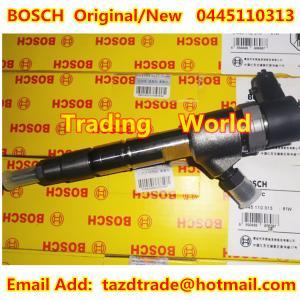 China BOSCH Original and New Injector 0445110313 for Foton (Beijing Futian Envir.) wholesale