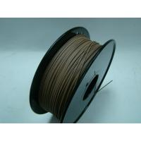 China Markerbot 3d Printer Wood Filament , 3d printing consumables temperature 190 - 230°C wholesale