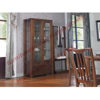 China Solid wooden with Glass Door Sideboards for Wine Cabinet in Dining Room Furniture wholesale