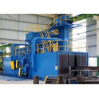 China Electrical Roller Conveyor Shot Blasting Machine for Steel Pipe Surface Improving on sale