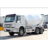 China ZF8118 Hydraulic Steering Howo Concrete Mixer Truck 371hp Euro 2 400L Fuel Tank wholesale