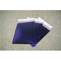 Wear Resistant Metallic Bubble Mailers Blue Padded Envelopes 8.5