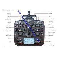 Quality DEVO 7ch,7 channels remote control rc plane model,HuaKeer 7 channels remote ,2.4G 7ch for sale