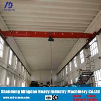 China Remote Radio Control 10 Ton Overhead Crane Include Rails and Power Suplly Bus Bar wholesale