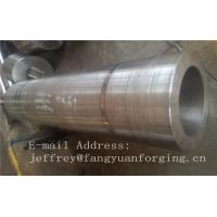 China DIN 17CrNiMo6 ,18CrNiMo7-6 Anealing Forged Sleeves / Hollow Shaft Heat Treatment wholesale