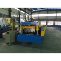 China Double Line Sheet Metal Roll Forming Machines , Floor Deck Metal Stud Roll Forming Machine wholesale