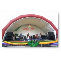 Buy cheap Outdoor Inflatable Stage Party Tent for party event from wholesalers