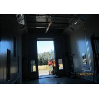 China Air Flow Inverter Control Side Draft Paint Booth , Custom Spray Booth Hire on sale