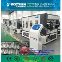 China 1050mm width PVC Composite Plastic Roof Tile Machine for ASA Synthetic Resin Roof Tile wholesale
