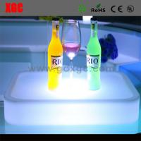China New Designed PE Material Luminous KTV Cocktail Plate wholesale