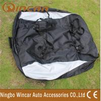 Quality Dual open Roof Top Cargo Bag , 600D Oxford Polyester Roof Carrier Bag for sale