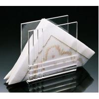 China Beautiful Shape Acrylic Napkin Holders/Tray ​With Reasonable Price​ wholesale