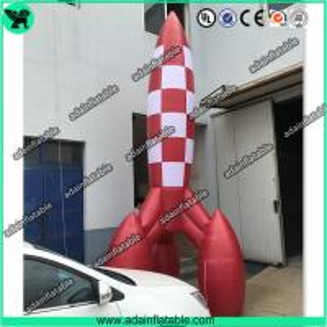 China 3m Advertising Inflatable Rocket Model,Event Rocket Customized wholesale