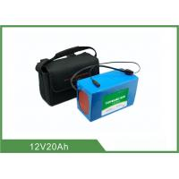 China 12V 20Ah Light weight Solar Light Batteries , Lithium Battery Pack 2 Years Warranty wholesale