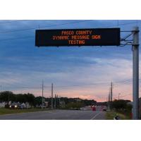 China Single Color Electronic Traffic Signs Outdoor P20 Led Road Message Displays Screen on sale