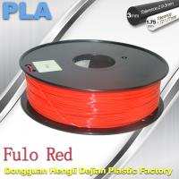 China 1.75 / 3mm Fluorescent Filament   PLA Fluo filament  bright color filament wholesale
