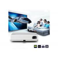 China 1080P LED Android Mini Projector With Wifi  , 3000 Lumens Bluetooth Video Projector wholesale