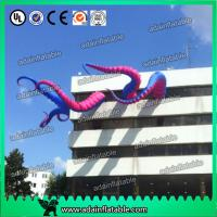 China Purple And Pink Event Party Decoration 5m Inflatable Tentacle Customized wholesale