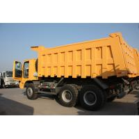 Buy cheap 70 Tons HOWO Mining Tipper Dump Truck 6X4 371HP High Strength Steel Cargo Body from wholesalers