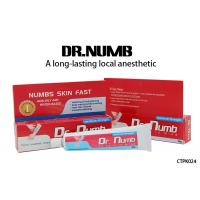 China Dr. Numb Gel External Use Strongest Tattoo Numbing Cream 5% Lidocaine wholesale