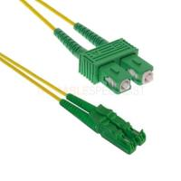 Buy cheap FTTH E2000 Apc to SC / APC Patch Cord Duplex Fiber Optic Cable for network from wholesalers