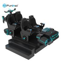 China 3.8KW 9D Virtual World Simulator VR Interactive Shooting Games 6 Seats For Kids wholesale