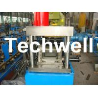 China U Shaped Channel Purlin Roll Forming Machine With 1.5 - 3.0mm Thickness TW-U100 wholesale