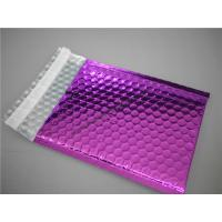 China Multi Colored Purple Metallic Bubble Mailers 220x275 #B5-3 For Transport wholesale