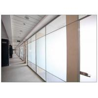 China Translucent Sandblasted Frosted Glass Sheets 4mm - 12mm Thickness For Bright Interiors wholesale