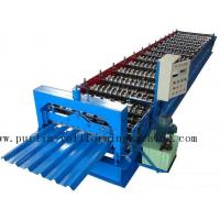China Professional Steel Metal Sheet Cold Roll Forming Machine , Roof Panel Roll Former 5 Ton wholesale