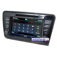 China 8 Car Stereo GPS Navigation Headunit for Skoda Octavia Car Stereo DVD Player wholesale