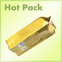 China Heat Sealed Aluminum Foil Bags For Food Packaging With Tin Tie Various Size wholesale