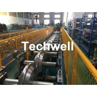 China Metal Valley Flashing Roll Forming Machine With 45# High Grade Steel Roller Material And 0-15m/min Forming Speed wholesale