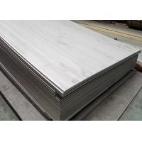 China 1200x2400mm AISI Thin Stainless Steel Sheet , Slit Edge Stainless Steel Plate wholesale