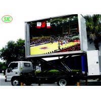 China Led Mobile Advertising Trucks P5 Outdoor Full Color LED Screen 160mm*160mm wholesale
