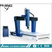 China Industrial 5 Axis CNC Router Machine For EVA / PE / Foam / Plywood Working wholesale