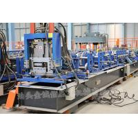 China 3 Roller Fast Speed CZ Exchange Purlin Roll Forming Machine With Punching wholesale