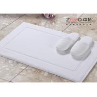 Quality No Smell Hotel Bath Mat Towel , Hotel Collection Bath Mat 800 -1000 GSM for sale