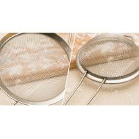 China Stainless Steel Taper Mesh Cooking Oil Strainer / Sieve For Kitchen , 0.02mm-2mm Wire Dia wholesale