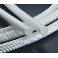 China Cable Heat Protection Heat Insulation Sleeve Silicone / Resin Coated Multi Color on sale